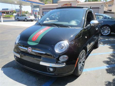 sell   fiat  convertible gucci limited edition