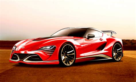 Is This The 2018 Toyota Supra Production Model?