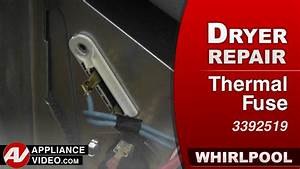 Whirlpool Dryer - Not Heating - Thermal Fuse