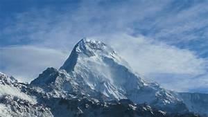 Annapurna Mountain Range In Nepal by Kristian_Kettner ...