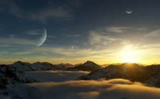 Planet Gliese 581 Surface