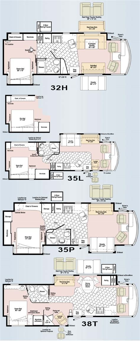 itasca class c rv floor plans itasca suncruiser rv floor plans carpet vidalondon