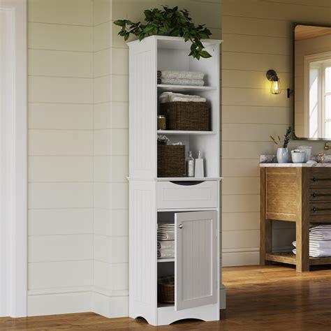 riverridge ashland collection tall linen cabinet