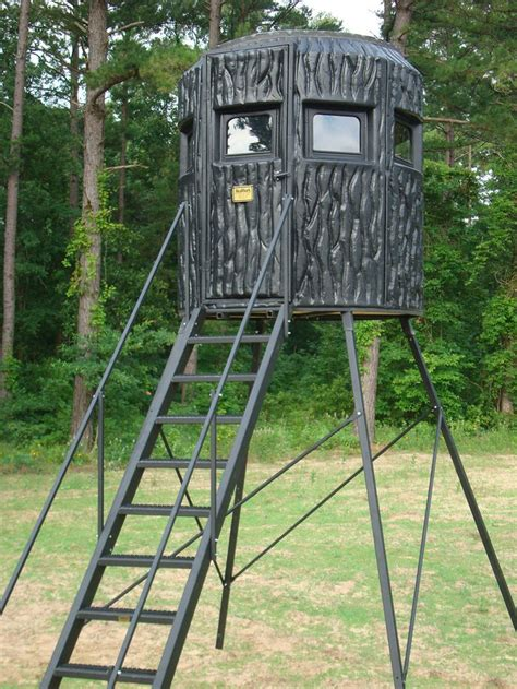 Gbx Series Tower Hunting Blind For Gun Or Bow Hunters