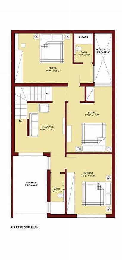 Map Plan Marla Plans Floor Sq Modern