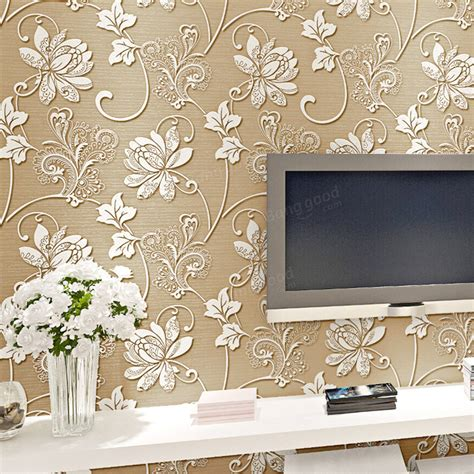 10m Concaveconvex Wallpapers 3d Embossed Textured Non