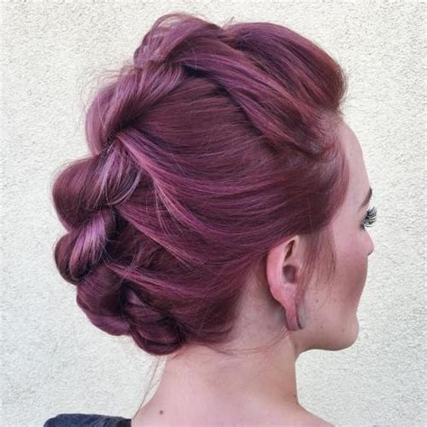 Mohawk Updo Hairstyles by 70 Most Gorgeous Mohawk Hairstyles Of Nowadays