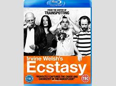 JUZD All Star feature on Cover of Ecstasy Blue Ray Disc