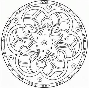 196 Dibujos de Mandalas para Colorear fáciles y difíciles Mandalas