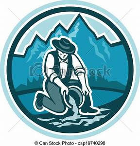 Gold Prospector Clipart | ClipArtHut - Free Clipart
