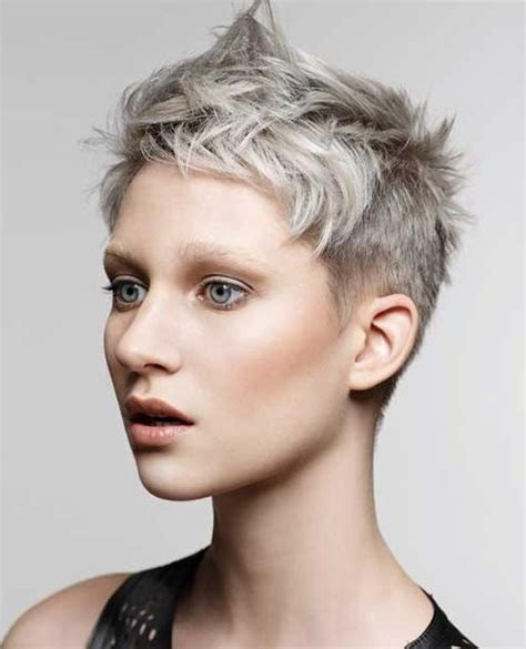 pixie haircuts for gray hair 20 best ideas of grey pixie haircuts 3810