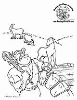 Goats Billy Gruff Coloring Three Pages Activities Goat Troll Printable Fairy Sheets Sheet Colouring Tale Tales Fairytale Template Kindergarten Printables sketch template