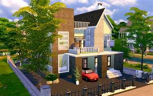 The Sims 4 - Contemporary Modern House Homeless Sims