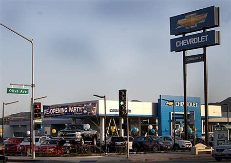 Community Chevrolet Celebrates Grand Reopening