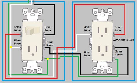 Electrical How Wire Duplex Outlet From Switch