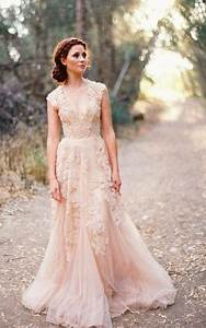 plus size pink wedding dresses pluslookeu collection With plus size blush wedding dresses