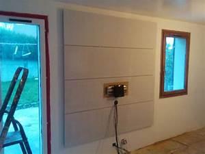 Fixer Une Télé Au Mur : support mural tv diy ~ Premium-room.com Idées de Décoration