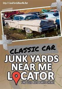Classic Car Salvage Yards Near Me  Locator   Guide   Faq