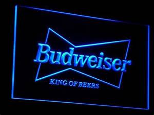 Budweiser King of Beers LED Neon Sign