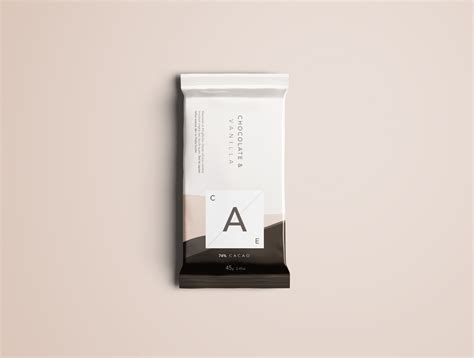 Here we present you a brand new chocolate bar packaging mockup psd file for your product branding project. Premium Chocolate Bar Mockup