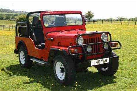 indian jeep mahindra mahindra indian chief cj3b jeep car for sale