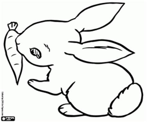 kleurplaten konijnen kleurplaat