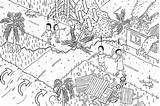 Village Earthquake Tsunami Cartoon Landslide Affected Beach Australia Isometric Fire Geoscience Drawing Angle Earthquakes Line Diagram Natural Stuartmcmillen Buildings Rubble sketch template