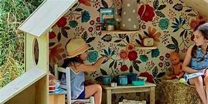 Cabane Enfant Tissu : une cabane de jeu pliable pour les enfants marie claire ~ Teatrodelosmanantiales.com Idées de Décoration