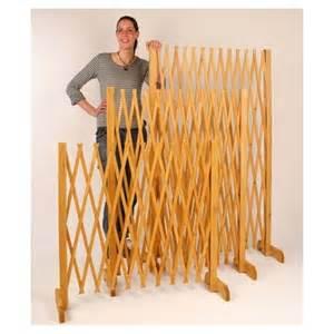 barri 232 re extensible bois 90 cm protection animaux shopix fr