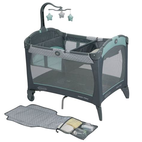 pack n play with flip changing table graco pack n play playard with change n carry portable