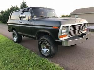1979 Ford Bronco Custom 351m 79 1978 78 F150 F100 Ranger Xlt Full Size Fullsize