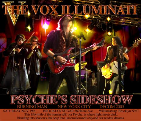 Illuminati Band Vox And The Illuminati Appearances