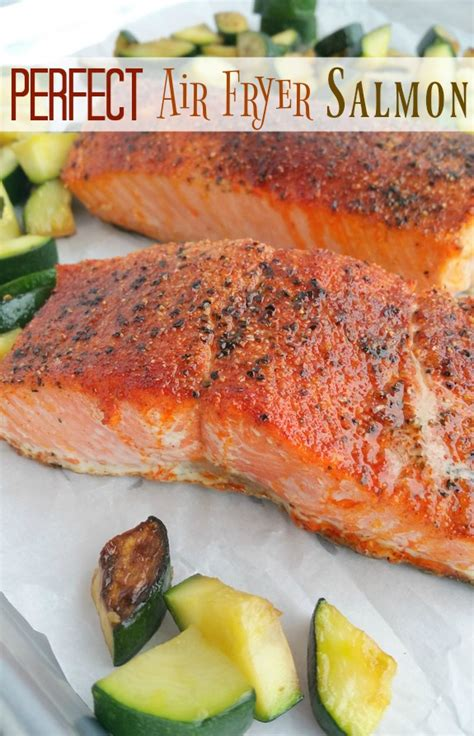 fryer air salmon perfect they basket