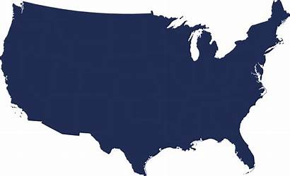 Clipart Country Usa States United Transparent Outline