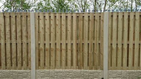 ftxft pressure treated tanilized double sided fence