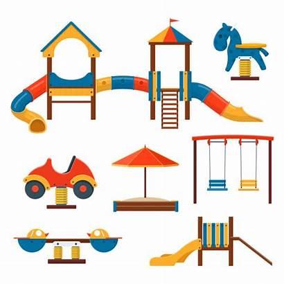 Playground Slide Vector Clip Illustrations Playhouse Disney