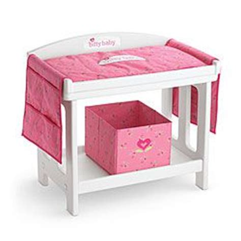 doll changing table station american dolls changing table set dont have much