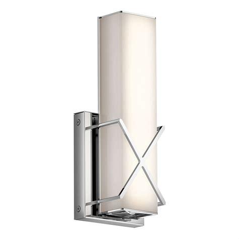 shop kichler lighting  light trinsic chrome led bathroom