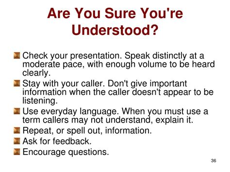 etiquette telephone presentation understood sure re ppt powerpoint slideserve