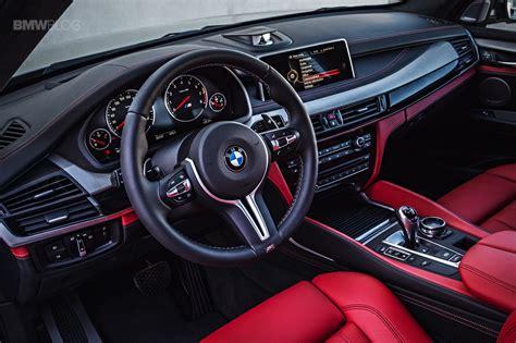 2017 Bmw X6 White Red Interior