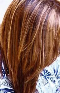 Kupfer Mit Blonden Strähnen Trend 2016 Ist Kupferbraun Haarfarbe 36