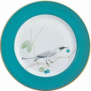 Assiette Bleu Canard : assiette oiseaux d 39 orient 39 19 gu assiettes bleu canard 39 vert flamboyant 19 gu pier ~ Teatrodelosmanantiales.com Idées de Décoration