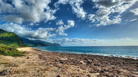 kaena point oahu hawaii island travel landscape