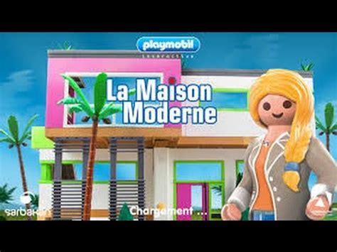tapis de jeu playmobil playmobil la maison moderne jeu vid 233 o