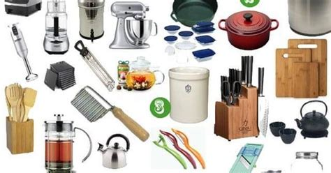 Essential Items For A Natural Kitchen  Wedding Registry