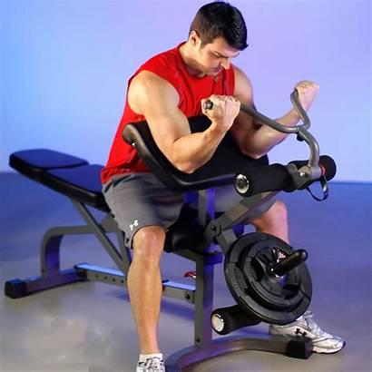 Bench Leg Curl Weight Preacher Incline Extension