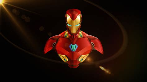 Iron Man Avengers Infinity War Minimal Wallpapers Hd