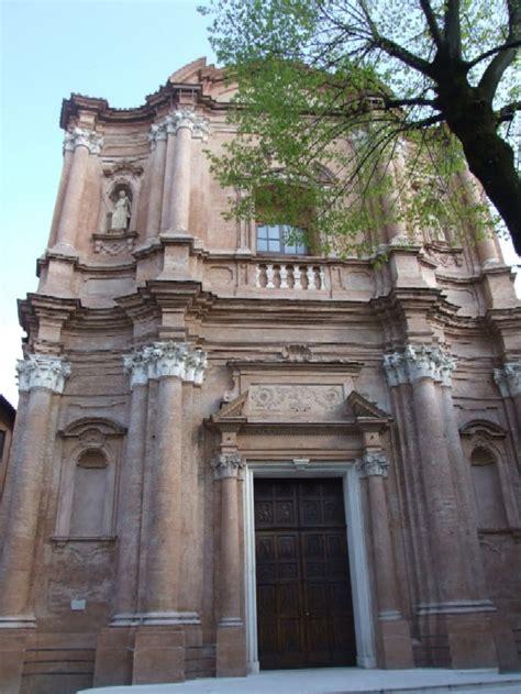 la cupola reggio emilia la facciata della chiesa di sant agostino contigua al