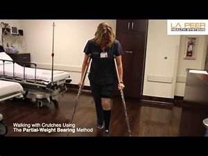 How to use Crutches -- Non-weightbearing | Doovi