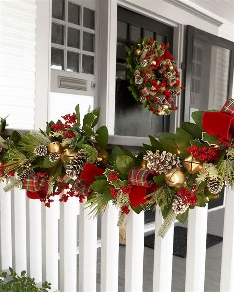 garland for decorating fences top 40 outdoor decoration ideas from celebration all about
